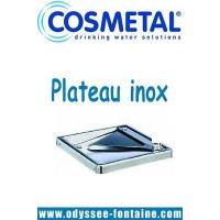 PLATEAU INOX FONTAINE A EAU