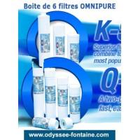 OMNIPURE Filtres a eau