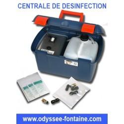 CENTRALE DE DESINFECTION FONTAINE A EAU