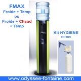 Fontaine a eau FMAX froide et tempéré