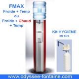 FMAX Fontaine a eau ROUGE