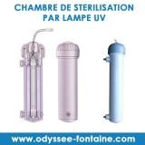 CHAMBRE DE STERILISATION PAR LAMPE UV