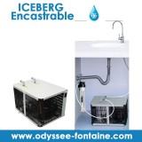 ICEBERG FONTAINE EAU FROIDE ENCASTRABLE
