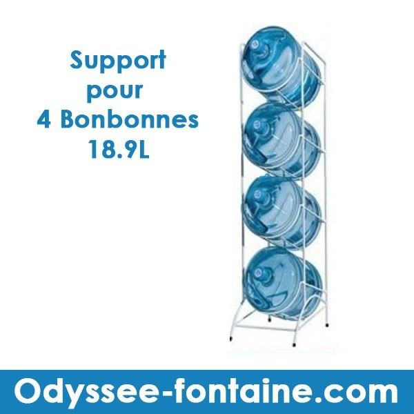 LOCATION SUPPORT BONBONNES S4