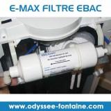 EMAX FILTRE FONTAINE RESEAU