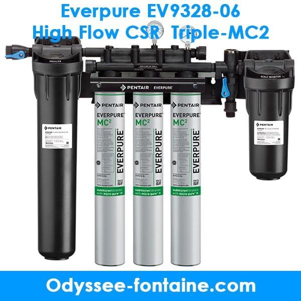 Everpure EV9328-06 High Flow CSR Triple-MC2