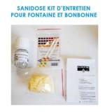 Kit d'entretien SANIDOSE pour Fontaine a eau et Bonbonne