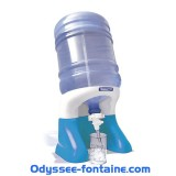 Fontaine bonbonne eau Odysseo par 6 pièces
