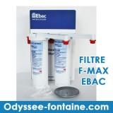 FMAX FILTRE FONTAINE RESEAU EBAC