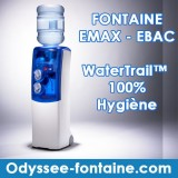 Fontaine à eau bonbonne EMax - Ebac