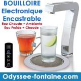 FONTAINE A EAU ENCASTRABLE BOUILLOIRE A COMMANDE ELECTRONIQUE