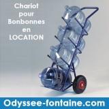 LOCATION CHARIOT BONBONNE A EAU ODYSSEE