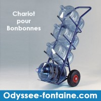 CHARIOT BONBONNE A EAU ODYSSEE
