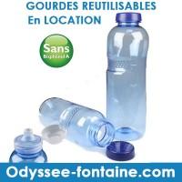 LOCATION GOURDE POUR FONTAINE A EAU SANS BPA