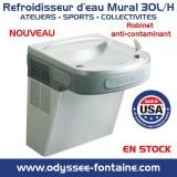 FONTAINE MURALE INOX ELKAY 30 litres