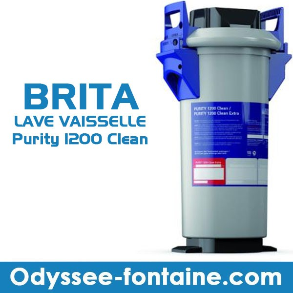 BRITA LAVE VAISSELLE Purity 1200 Clean complet kit premium