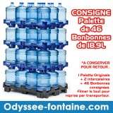 CONSIGNE BONBONNES 18,9L ODYSSEE