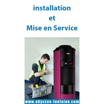 Installation et Mise en service - fontaine d eau