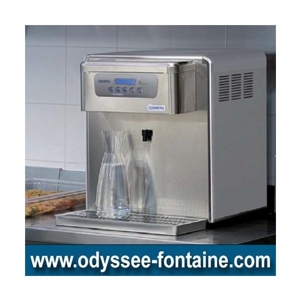 Fontaine à eau froide 65 L/H pour carafes 2 sorties