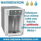 WATER STATION FONTAINE EAU GAZEUSE