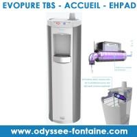 Fontaine à eau filtration UV Evopure ToBeSure