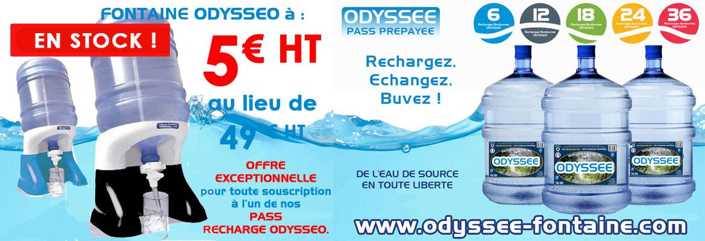 ODYSSEO FONTAINE A EAU A 5 EUROS