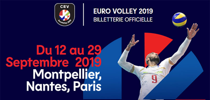 location fontaine a eau euro volley 2019